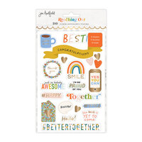 Jen Hadfield - Reaching Out Collection - Sticker Book - Gold Foil Accents