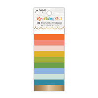 Jen Hadfield - Reaching Out Collection - Washi Tape - Solid - Gold Foil Accents