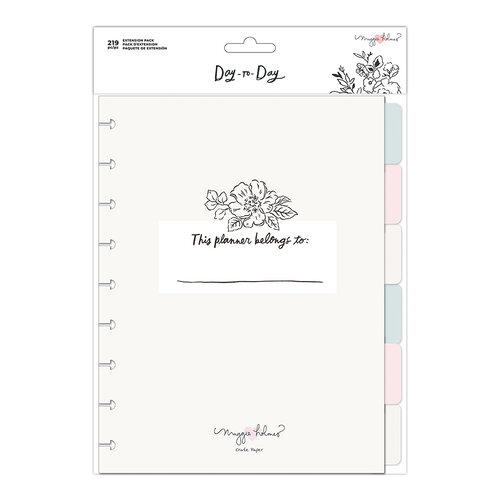 Maggie Holmes - Day to Day Planner Collection - 6 Month Extension Pack