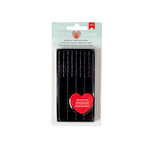 American Crafts - Adhesives - 3 Dimensional Foam - Sticky Thumb - Black Tabs