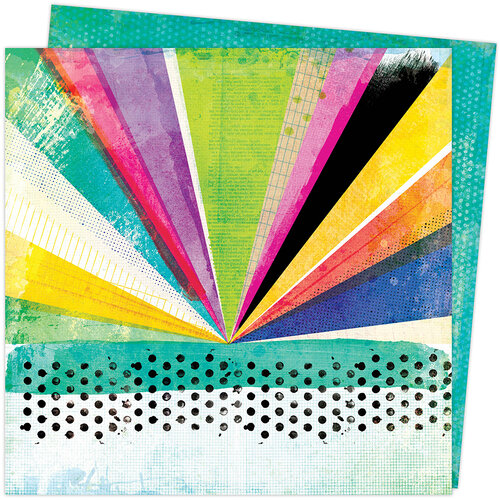 Vicki Boutin - Color Study Collection - 12 x 12 Double Sided Paper - Array of Colors