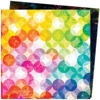 American Crafts - Color Study Collection - 12 x 12 Double Sided Paper - Inspired