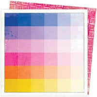 American Crafts - Color Study Collection - 12 x 12 Double Sided Paper - Thumbnail