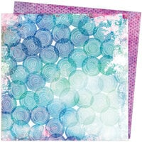 American Crafts - Color Study Collection - 12 x 12 Double Sided Paper - Spheres