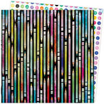Vicki Boutin - Color Study Collection - 12 x 12 Double Sided Paper - Doodles