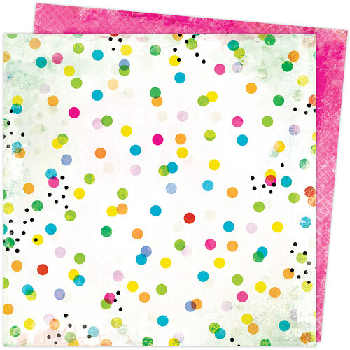 Vicki Boutin - Color Study Collection - 12 x 12 Double Sided Paper - Dots and Marks