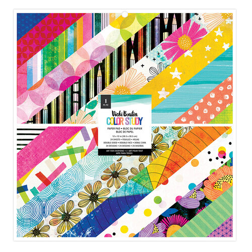 Vicki Boutin - Color Study Collection - 12 x 12 Paper Pad