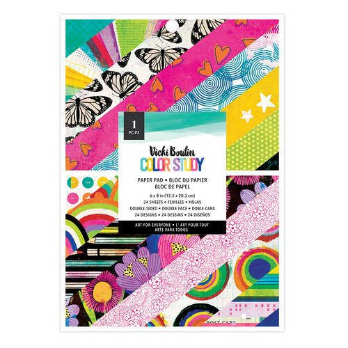Vicki Boutin - Color Study Collection - 6 x 8 Paper Pad