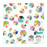 Vicki Boutin - Color Study Collection - 12 x 12 Specialty Paper - Vellum and Gold Holographic Foil