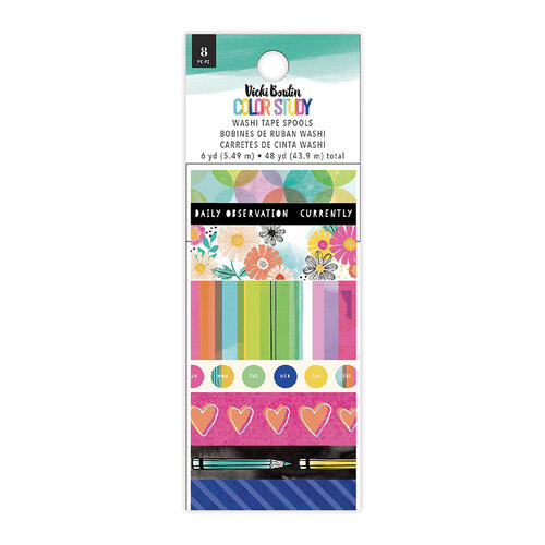 Vicki Boutin - Color Study Collection - Washi Tape Set