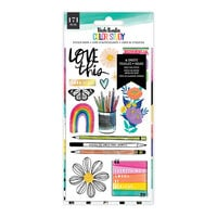 Vicki Boutin - Color Study Collection - Sticker Book - Gold Holographic Foil Accent