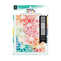 American Crafts - Color Study Collection - Stencils - Fresh