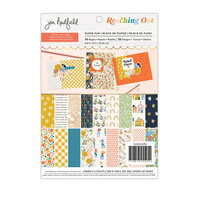 Jen Hadfield - Reaching Out Collection - 6 x 8 Paper Pad - Gold Foil Accents