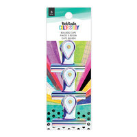 Vicki Boutin - Color Study Collection - Bulldog Clips - Iridescent