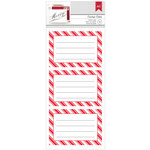 American Crafts - Christmas - Cardstock Stickers - Labels - Holiday