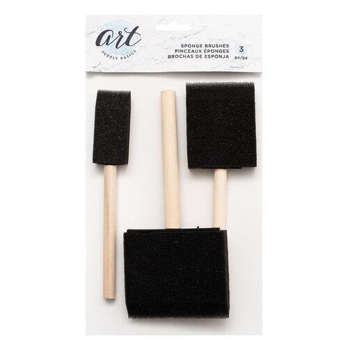 American Crafts - Art Supply Basics Collection - Sponge Brush