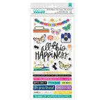 Vicki Boutin - Color Study Collection - Thickers - Phrases - All This Happiness - Gold Holographic Foil Accent
