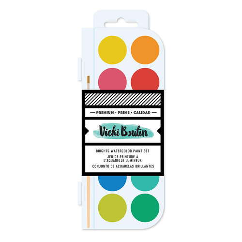 Vicki Boutin - Fernwood Collection - Watercolor Set - Brights