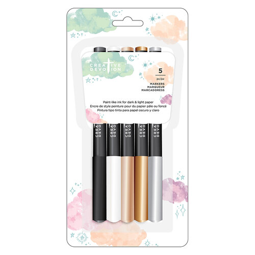 American Crafts - Creative Devotion Draw Near Collection - Opaque Markers