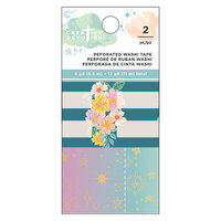 American Crafts - Creative Devotion Draw Near Collection - Washi Tape - Perforated Tab - Matte Gold Foil Accents