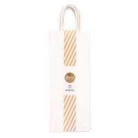 American Crafts - Fancy That Collection - Wine Gift Bags - White - 6 Pack