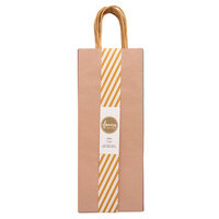 American Crafts - Fancy That Collection - Wine Gift Bags - Pastels - 6 Pack