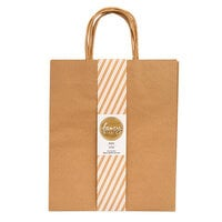 American Crafts - Fancy That Collection - Large Gift Bags - Kraft - 4 Pack