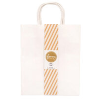 American Crafts - Fancy That Collection - Large Gift Bags - White - 4 Pack