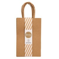 American Crafts - Fancy That Collection - Small Gift Bags - Kraft - 6 Pack