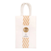 American Crafts - Fancy That Collection - Small Gift Bags - White - 6 Pack