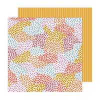 Jen Hadfield - Peaceful Heart Collection - 12 x 12 Double Sided Paper - New Day