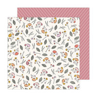 Jen Hadfield - Peaceful Heart Collection - 12 x 12 Double Sided Paper - Let Go