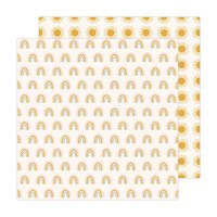 Jen Hadfield - Peaceful Heart Collection - 12 x 12 Double Sided Paper - Look Up