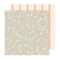 Jen Hadfield - Peaceful Heart Collection - 12 x 12 Double Sided Paper - Tranquil