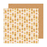 Jen Hadfield - Peaceful Heart Collection - 12 x 12 Double Sided Paper - Balanced