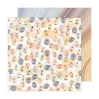 Jen Hadfield - Peaceful Heart Collection - 12 x 12 Double Sided Paper - I Am Enough