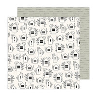 Jen Hadfield - Peaceful Heart Collection - 12 x 12 Double Sided Paper - Nest