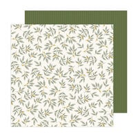 Jen Hadfield - Peaceful Heart Collection - 12 x 12 Double Sided Paper - Grow