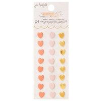 Jen Hadfield - Peaceful Heart Collection - Heart Brads