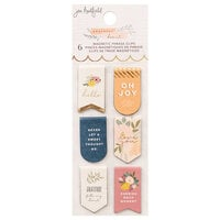 Jen Hadfield - Peaceful Heart Collection - Magnetic Bookmarks with Gold Foil Accents