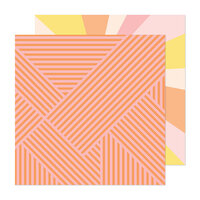 Obed Marshall - Fantastico Collection - 12 x 12 Double Sided Paper - Sunny