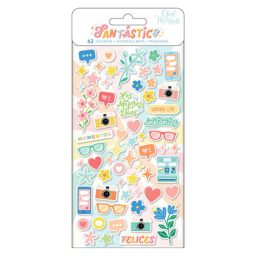 Obed Marshall - Fantastico Collection - Mini Puffy Stickers - Icons