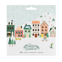 Crate Paper - Busy Sidewalks Collection - Christmas - Matte Sticker Book