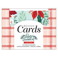 Crate Paper - Busy Sidewalks Collection - Christmas - Boxed Cards