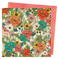 Vicki Boutin - Fernwood Collection - 12 x 12 Double Sided Paper - Flora and Fauna