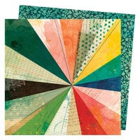Vicki Boutin - Fernwood Collection - 12 x 12 Double Sided Paper - Burst Forth