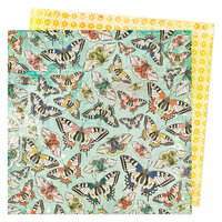 Vicki Boutin - Fernwood Collection - 12 x 12 Double Sided Paper - Hello Friends