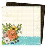 Vicki Boutin - Fernwood Collection - 12 x 12 Double Sided Paper - Notebook