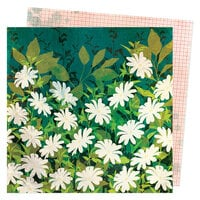 Vicki Boutin - Fernwood Collection - 12 x 12 Double Sided Paper - Field of Daisies
