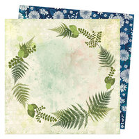 Vicki Boutin - Fernwood Collection - 12 x 12 Double Sided Paper - Gather